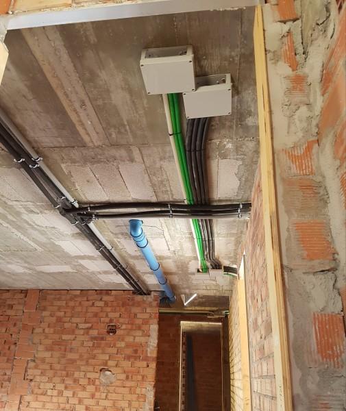 Instalaciones por techo