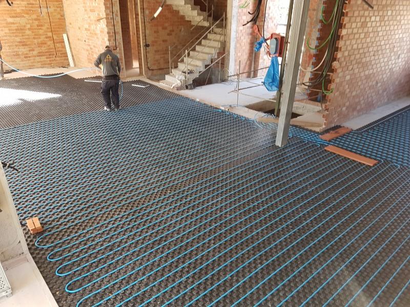 Circuitos de suelo Radiante hidráulico
