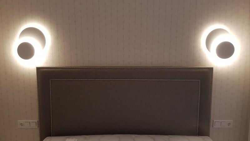 Iluminacion cabecero cama