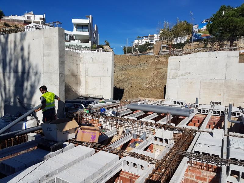 Portada del album Instalaciones de saneamiento en la villa de Capanes en Benahavis (Málaga)
